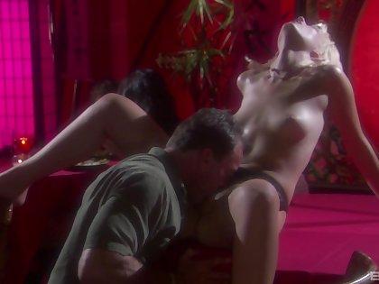 Fantasy erotic sex with beautiful blonde Kimberly Kane