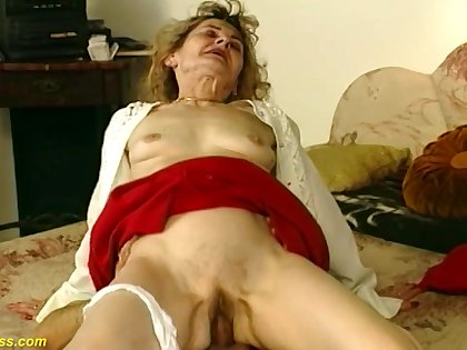 Hairy bush 81 years old german grandma gets wild and abysm fucked in senseless sexual relations positions