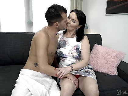 Emotional mature fat whore Ilsa gets hammered definitely rough by her lover