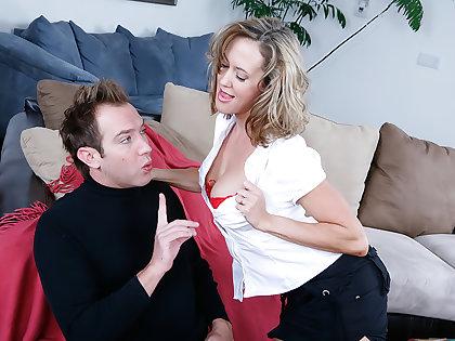 Brandi Love takes one big cock