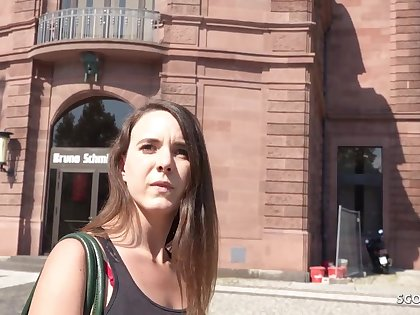GERMAN SCOUT - PUBLIC RECTAL ORGY Be advisable for CASH Fro LIL' NYMPH MINA