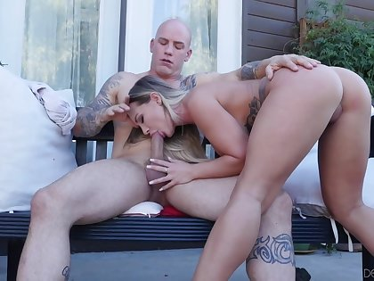 Go backwards View Of Cock Riding Goes Lewd Outside Forth Cali Carter